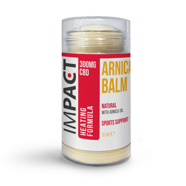 A heating sports balm with CBD