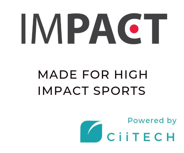 Impact CBD. Powered by_CiiTECH. For High Impact Sports