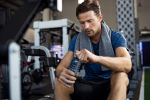 Staying Hydrated While Training